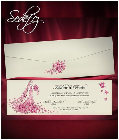 Svatební oznámení vzor 5475