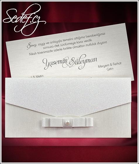 Svatební oznámení vzor 5481