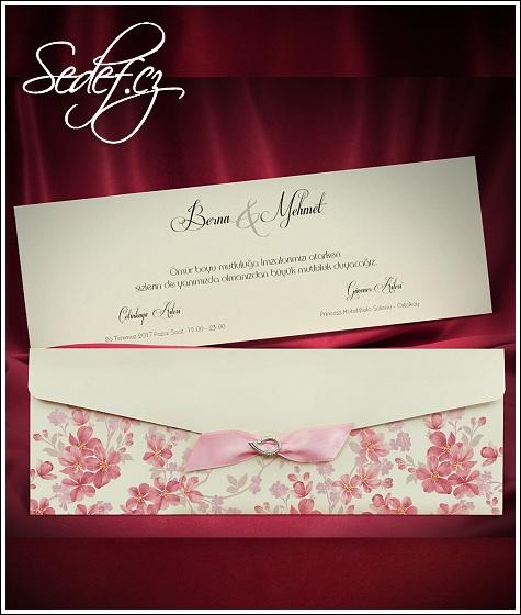 Svatební oznámení vzor 5492
