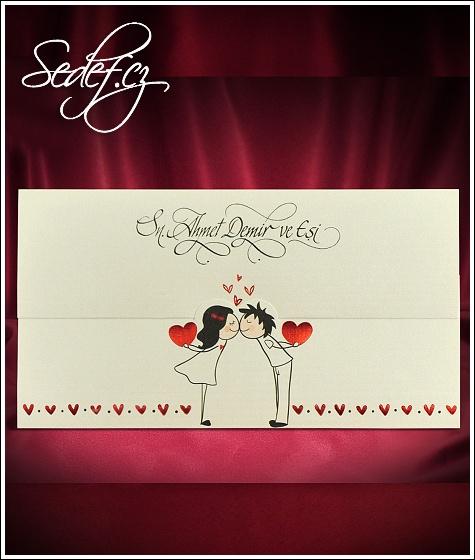 Svatební oznámení vzor 5499