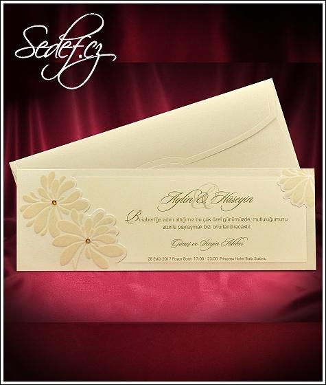 Svatební oznámení vzor 5503