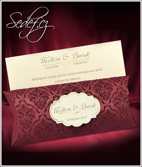 Svatební oznámení vzor 5504