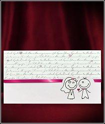Svatební oznámení vzor 5526