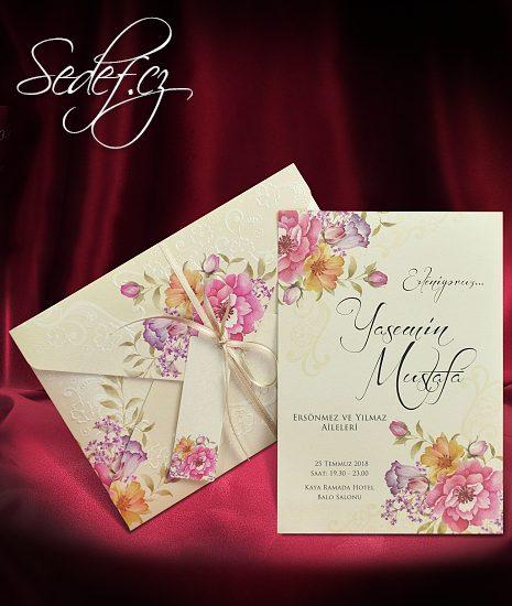 Svatební oznámení vzor 5565