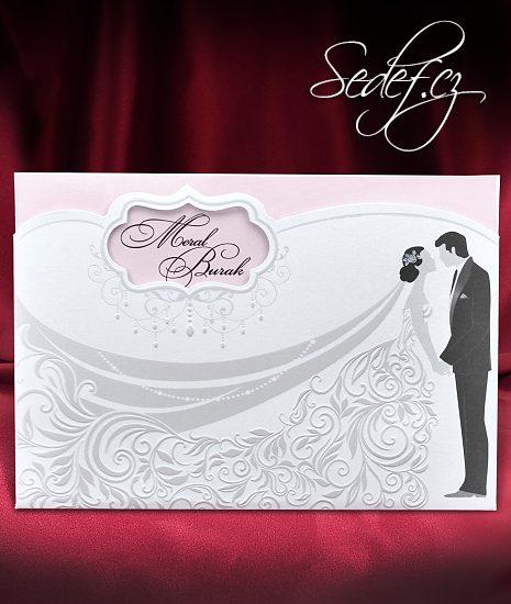 Svatební oznámení vzor 5578